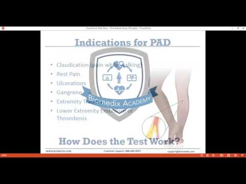 How to Perform a Full Arterial Study with PADnet