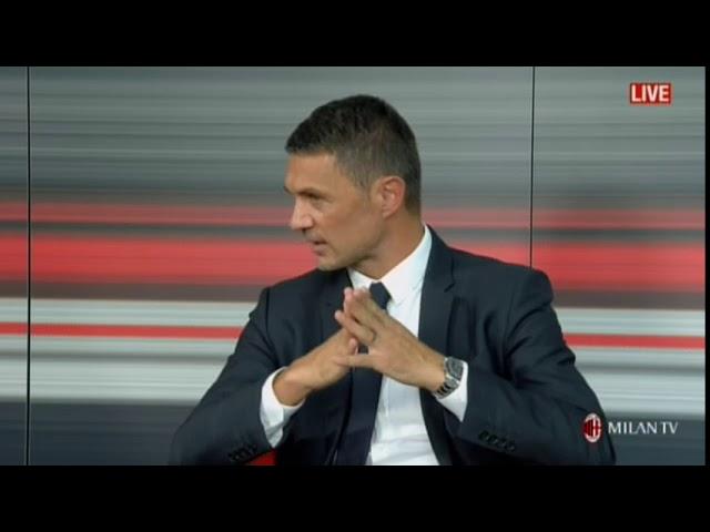 Maldini Dirigente Ac Milan - intervista