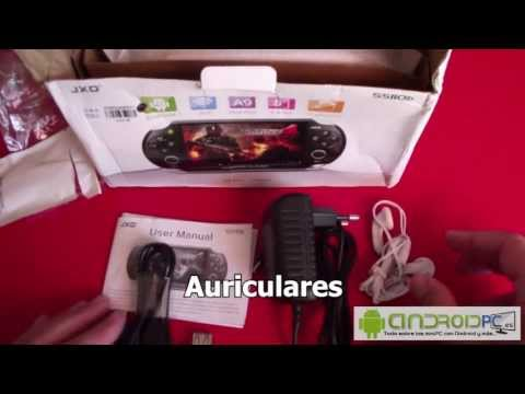 "Unboxing Consola Android JXD S5110b 5"" Dual Core"