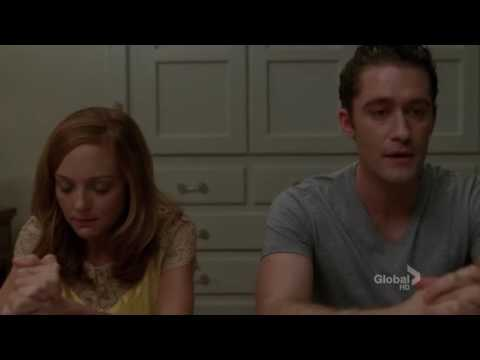 Glee  fix you cover emotional moment