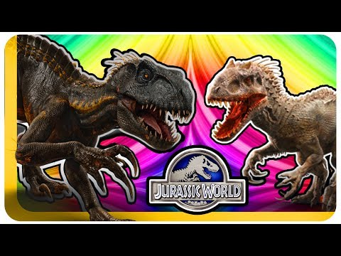 INDORAPTOR VS INDOMINUS REX - Jurassic World Evolution - Who Would Win? |