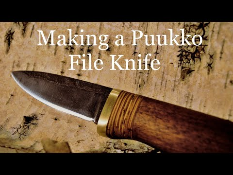 Making a Puukko File Knife