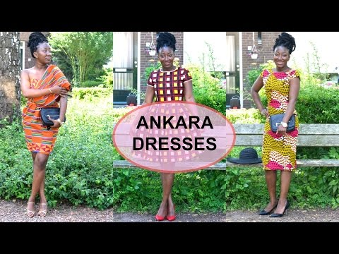 LOOKBOOK : Ankara dresses || African print lookbook || ADEDE