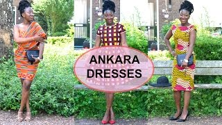LOOKBOOK : Ankara dresses || African print lookbook || ADEDE