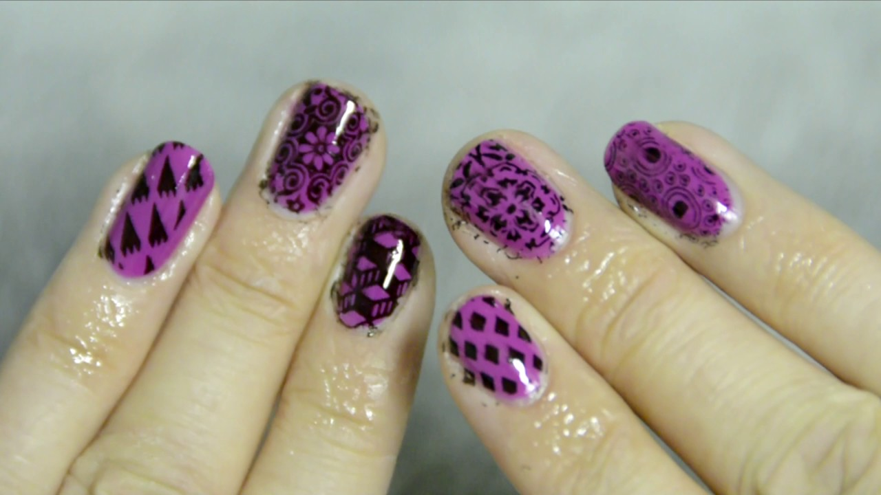 Coole, EINFACHE Nageldesigns - DIY at home - MoYou Nail ...