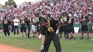 Saints Softball Game - Drew vs Chase homerun derby