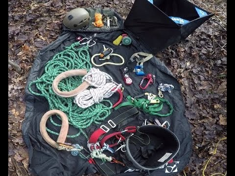 Recreational Tree Climbing: Gear & Set Up (2018), Part 1 Of 2