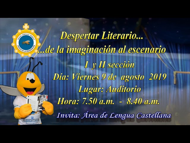 209 08 06 Invitación Despertar Literario