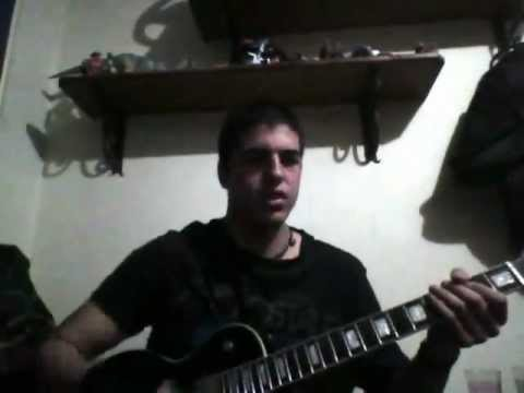 Circle Of Contempt - Entwine The Threads Guitar Solo Cover
