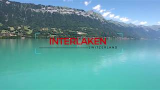 Interlaken Switzerland in 4K Dji Phantom 4 drone