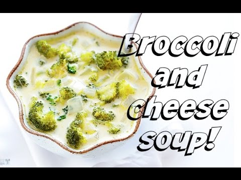 EASIEST BROCCOLI AND CHEESE SOUP EVER!