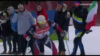Тур Де Ски 2017.Победа Устюгова финальный подьем