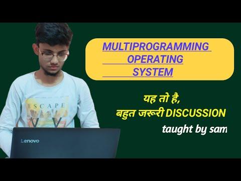multiprogramming-operating-system- -linux-tutorial- -sam-special