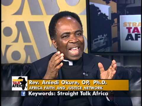 Straight Talk Africa Guest Rev. Aniedi Okure, Africa Faith ...