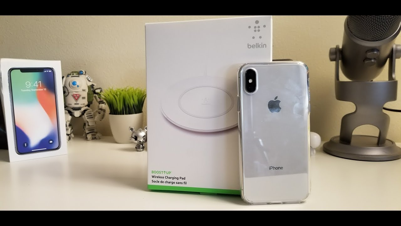 belkin wireless charger iphone x  iPhone X Belkin Wireless Charger