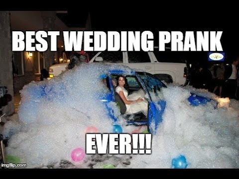 Best Wedding Car Prank Ever! - YouTube