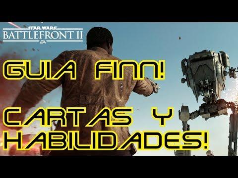 Guía rápida Finn! Cartas y habilidades! Star Wars Battlfront 2!