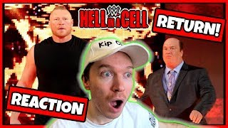 Reaction: BROCK LESNAR RETURNS at WWE HELL IN A CELL 2018!
