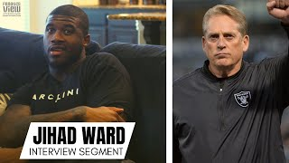 """Jihad Ward tells Story of Oakland Raiders Fight, Jack Del Rio Response """"THIS IS CRAZY!"""" (Part 3)"""