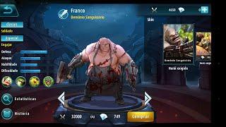 Mobile Legends: 5v5 MOBA | Jogando com o herói Franco | StelfPlay