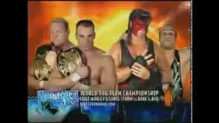 WWE WrestleMania 19 Matchcard
