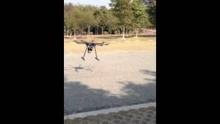 8 axis UAV quad coper German Technology Weather proof Thumbnail
