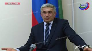 В правительстве РД прошло заседание  Антинаркотической комиссии