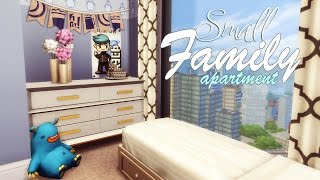 The Sims 4: Строительство | Small Family Apartment