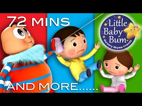 Jack and Jill | Plus Lots More Nursery Rhymes | 72 Minutes Compilation from LittleBabyBum!