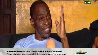 Professional Footballers Association - Badwam Sports on Adom TV (8-4-20)
