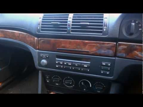 BMW E39 5 Series - How to Remove Radio