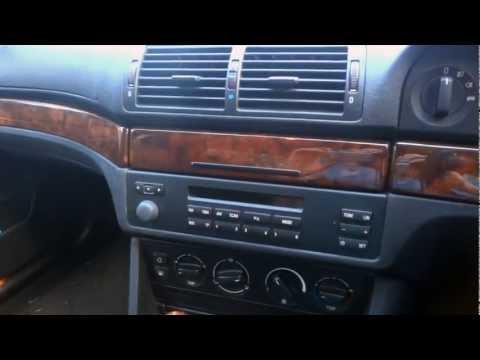BMW E39 5 Series - How to Remove Radio