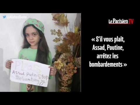 À 7 ans, elle tweete l'enfer des bombardements en Syrie
