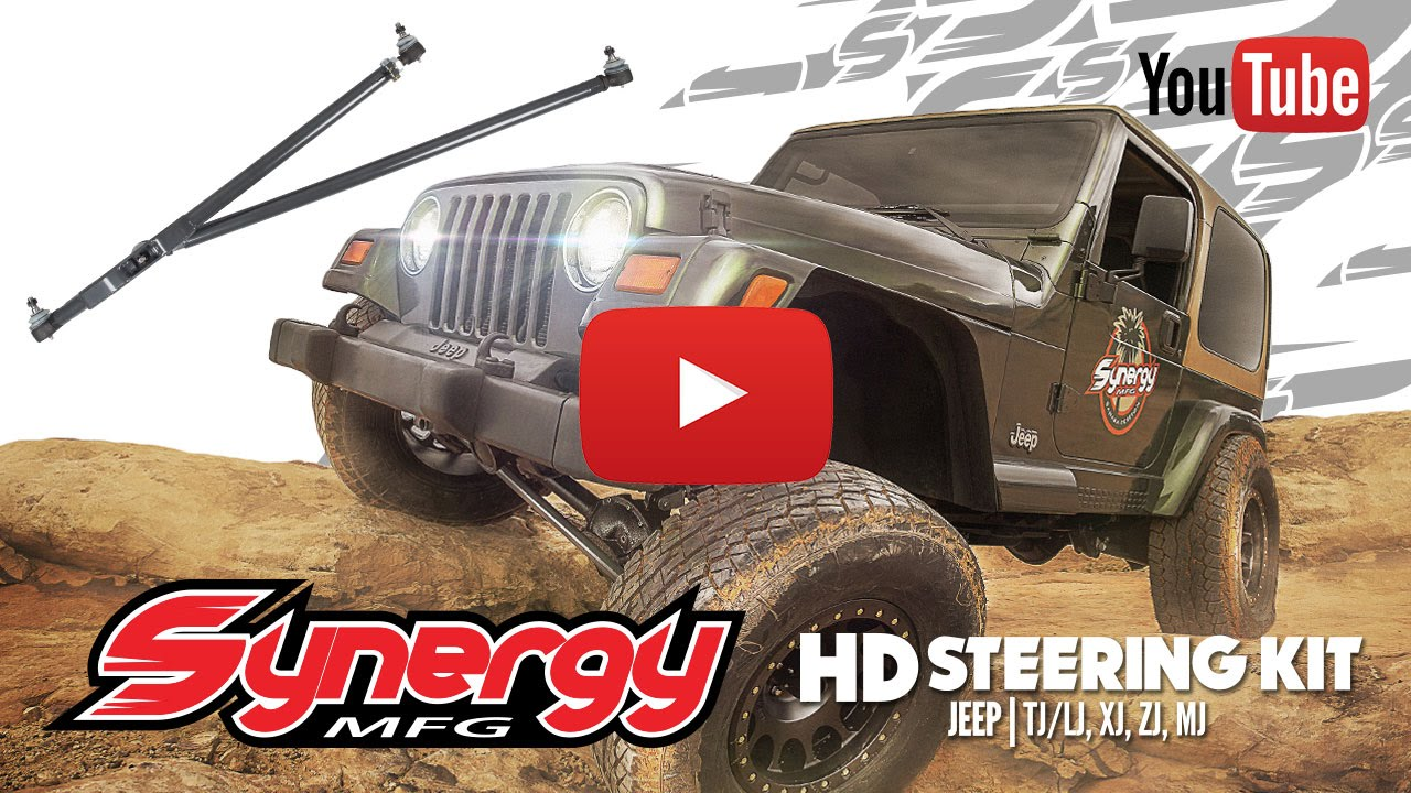 Synergy Jeep TJ/LJ, XJ, ZJ, MJ Heavy Duty Steering Kit