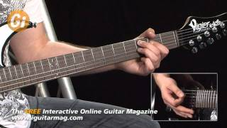 Tom Quayle - Guitar Lesson Spicing Up Your Blues Playing - Guitar Interactive iGuitar Magazine