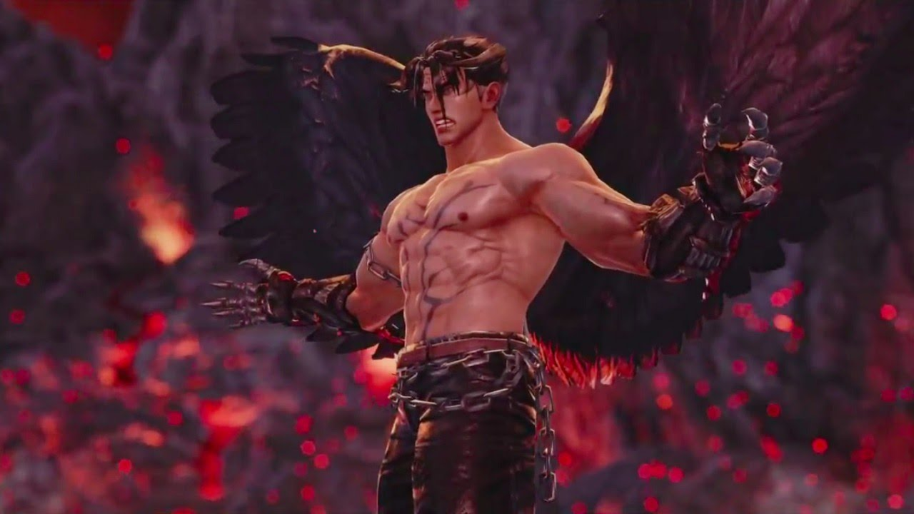 Tekken 7 Devil Jin Trailer Youtube