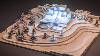 Architectural Model Made with Multitool 3D Printer