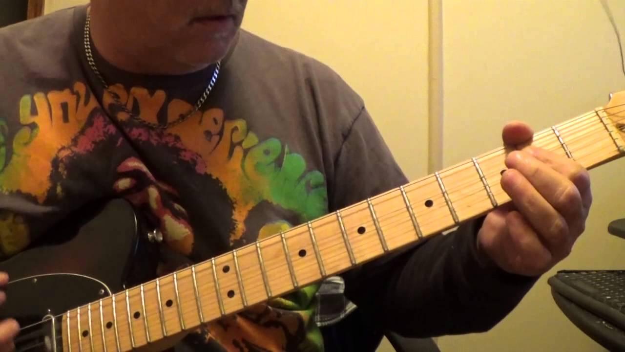 Toys In The Attic Aerosmith Guitar Cover Youtube