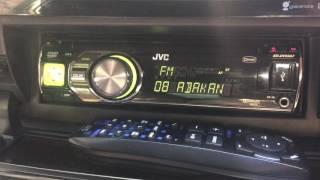 Toyota Prius магнитола JVC KD-DV5507