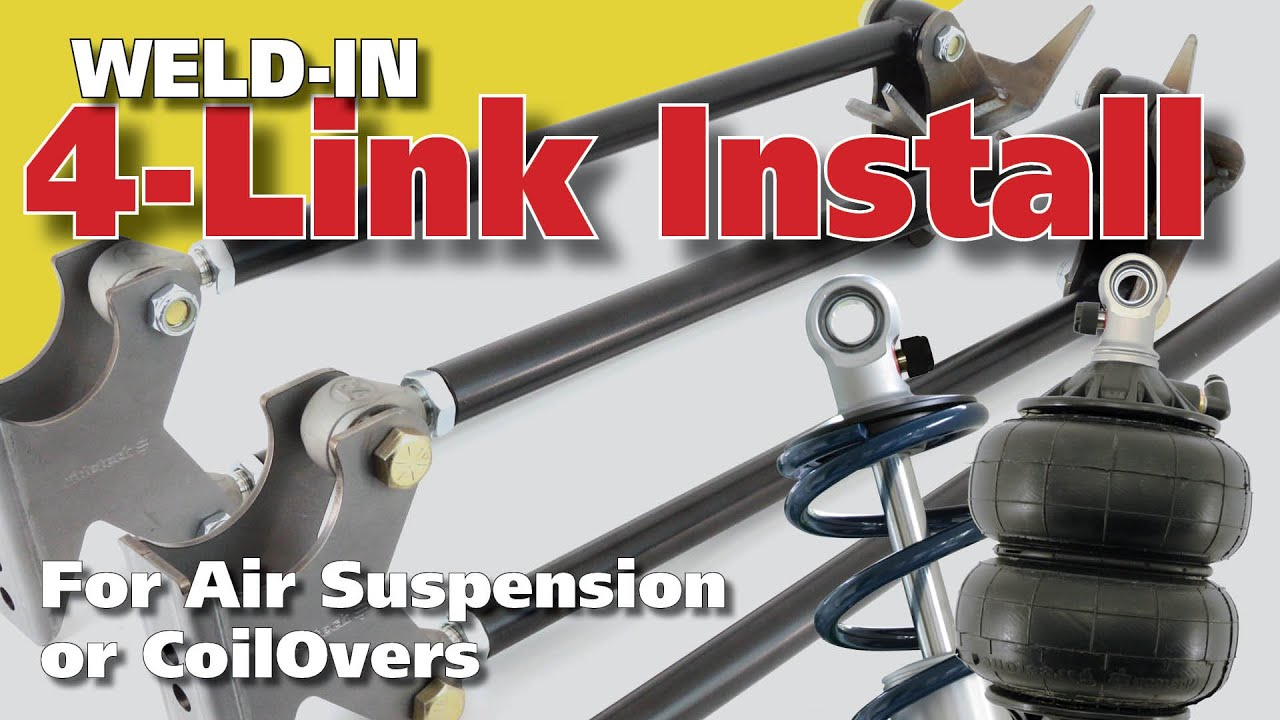 medium resolution of 4 link rear suspension for air ride and coilovers