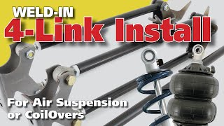 4-Link Rear Suspension for Air Ride and Coilovers