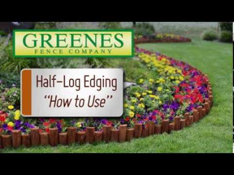 Greenes Edging Half Log