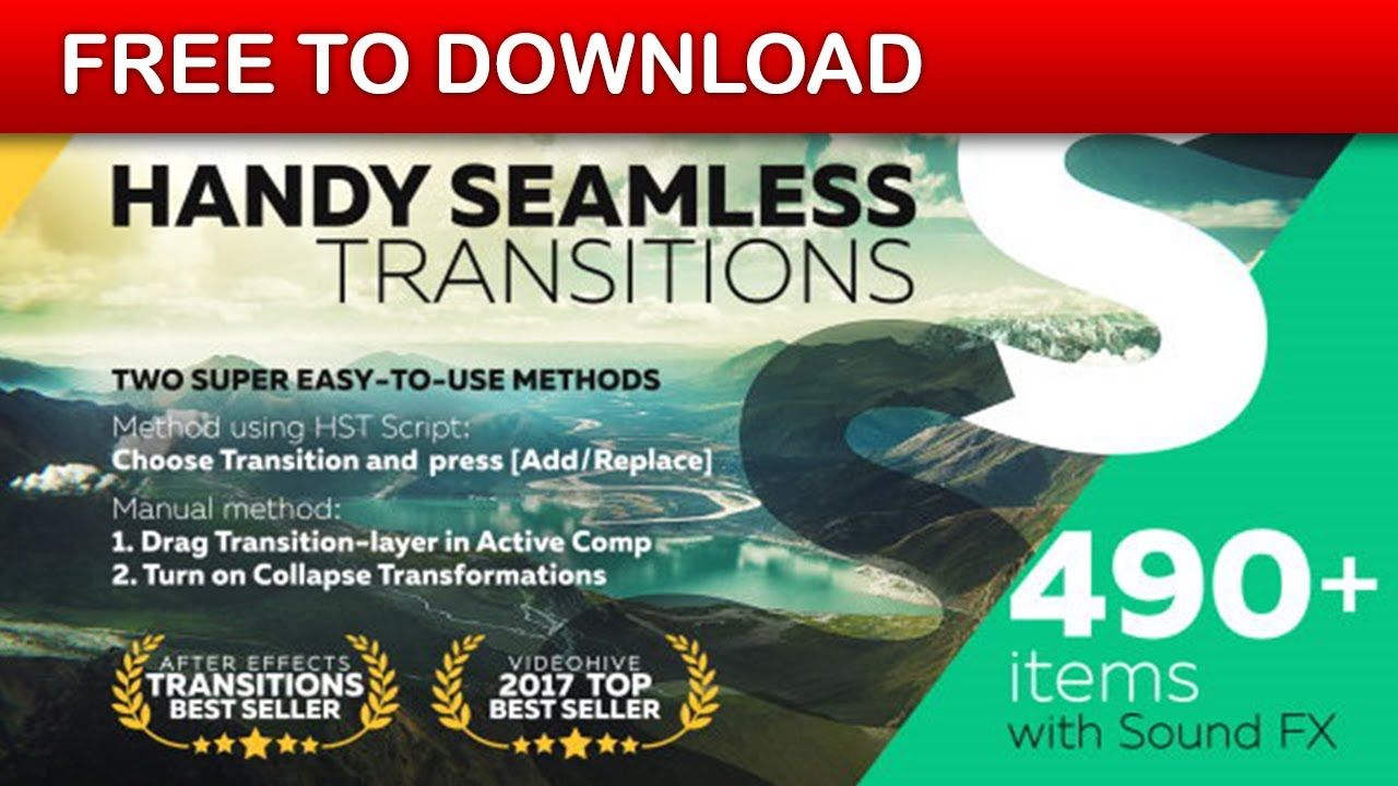 Handy Seamless Transitions | Pack & Script 3 3 2 - Project