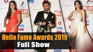 Hello Fame Awards 2019 | Katrina Kaif | Ranveer Singh | Janhvi Kapoor