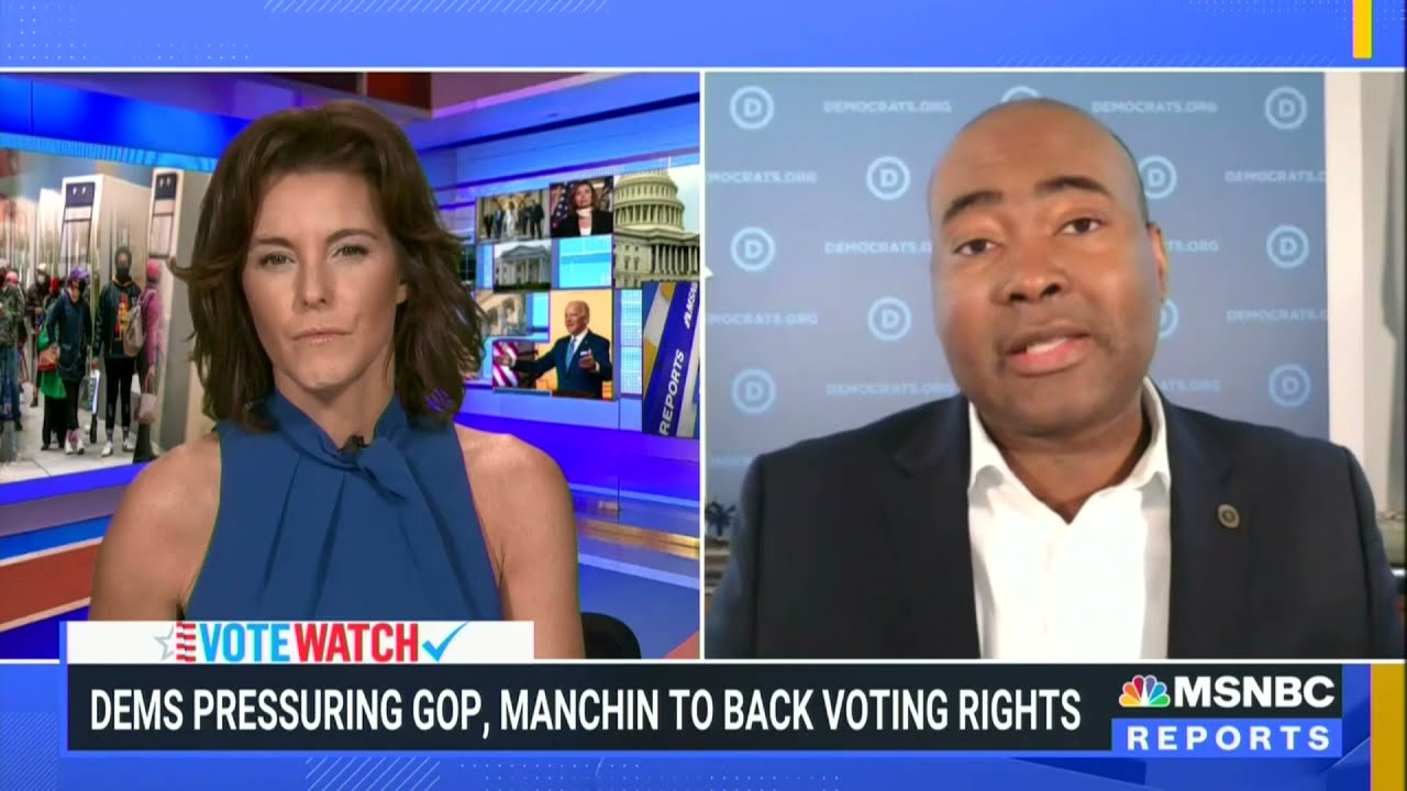 """DNC Chair on McConnell's Opposition to Voting Rights: """"The Most Knuckle-Headed Thing I've Ever Seen"""""""