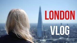 LONDON VLOG: Day out in London at The Sky Garden.