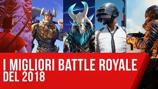 Da Fortnite a Realm Royale: migliori Battle Royale 2018