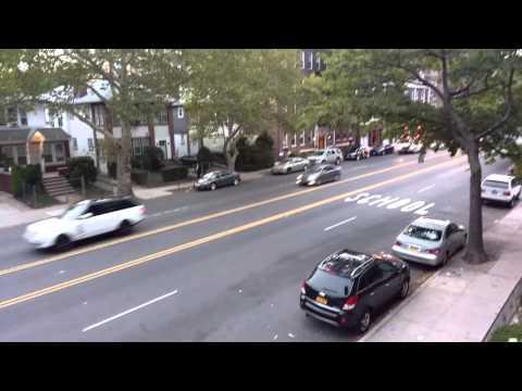 Shabbos Siren / Alarm:  Start of Shabbos / Shabbat / Jewish day of rest in Brooklyn, New York
