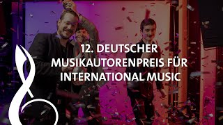 Peter Maffay überreicht Nachwuchspreis an International Music