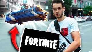ACHETER LE FORTNITE BUS IN REAL LIFE - TheGrefg